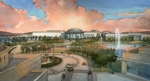 G W Bush Library. Exterior Rendering